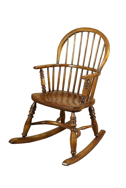 BC7CR Childs stickback rocking chair