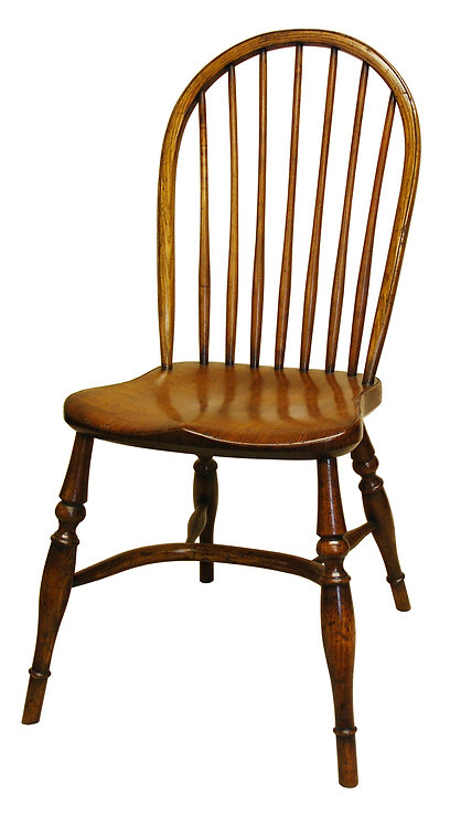 BC8MH Middle height stick back side chair