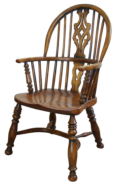 BC3C Georgian childs chair