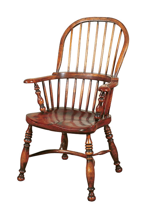 BC27 Broadarm stickback armchair