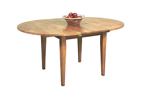 HL223 Extendable tapered leg dining table.