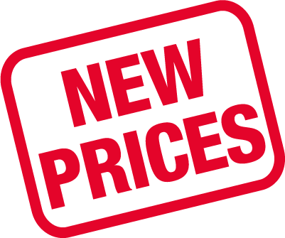 New Prices Sign