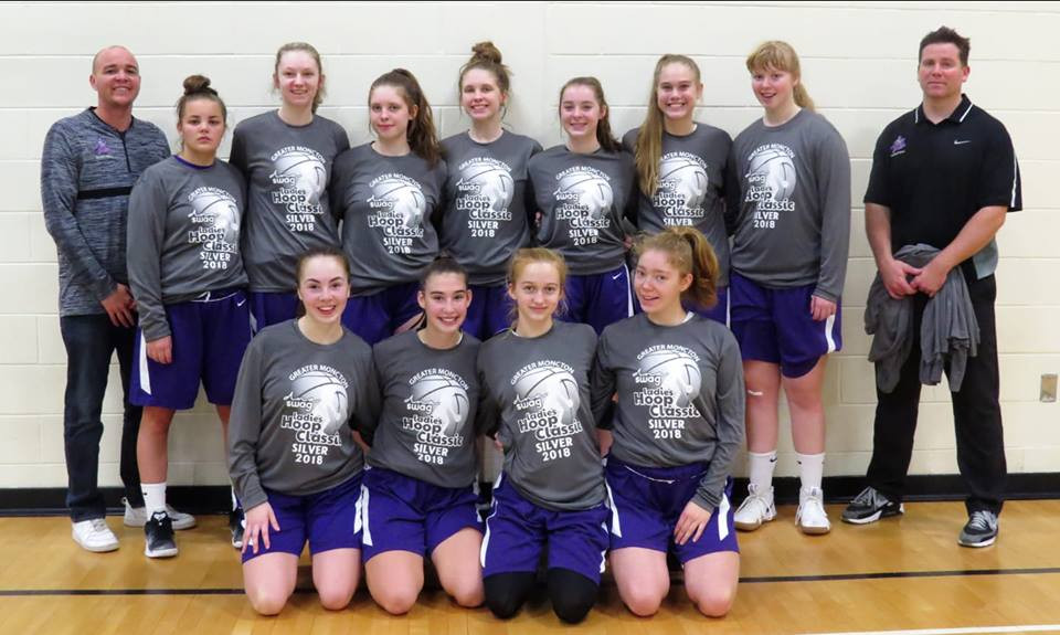 Silver medal Moncton High Purple Knights