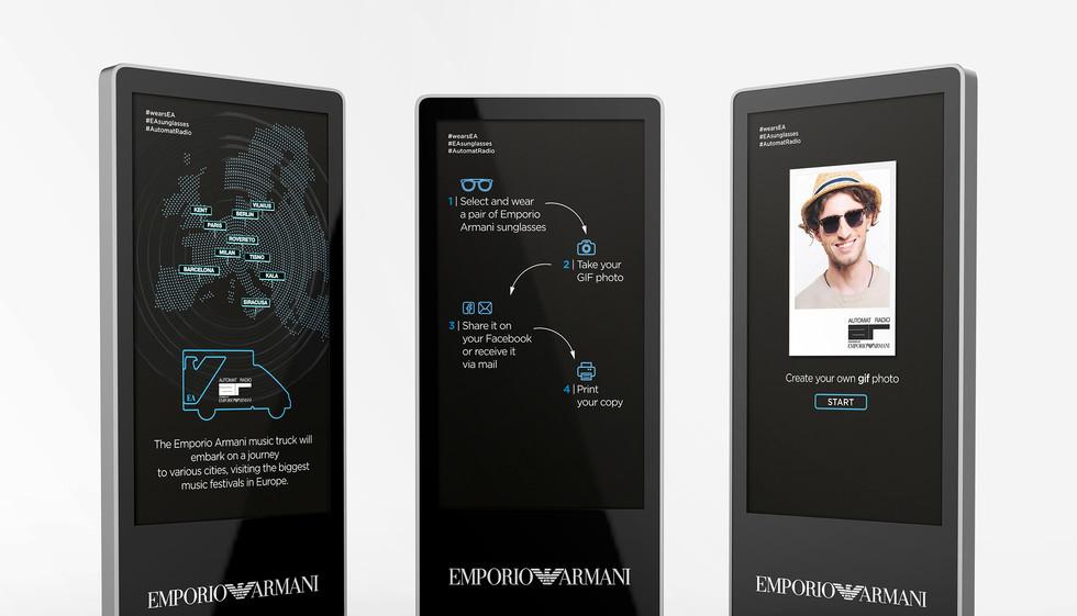 Emporio Armani - Store Engagement