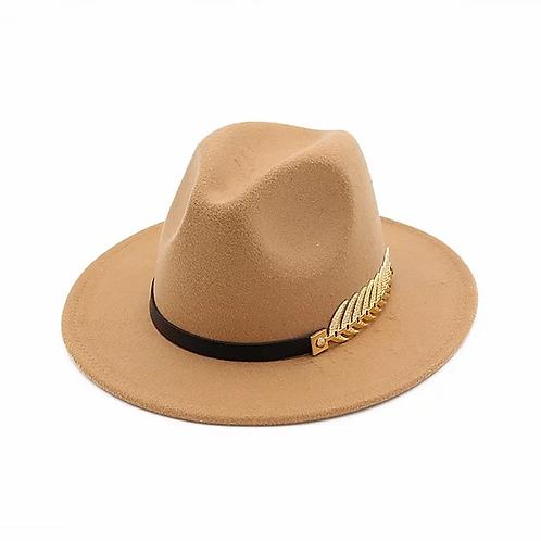Lux Fedora Hat - Tan
