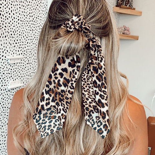 Lux Print Scrunchie Collection
