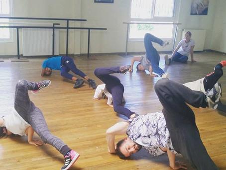 L'enseignement dans la danse Hip-hop