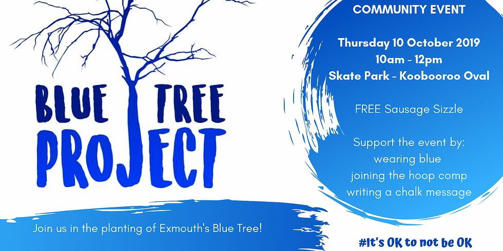 Exmouth - Blue Tree Project Day
