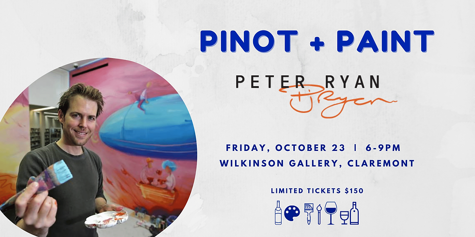 Pinot + Paint with Peter Ryan