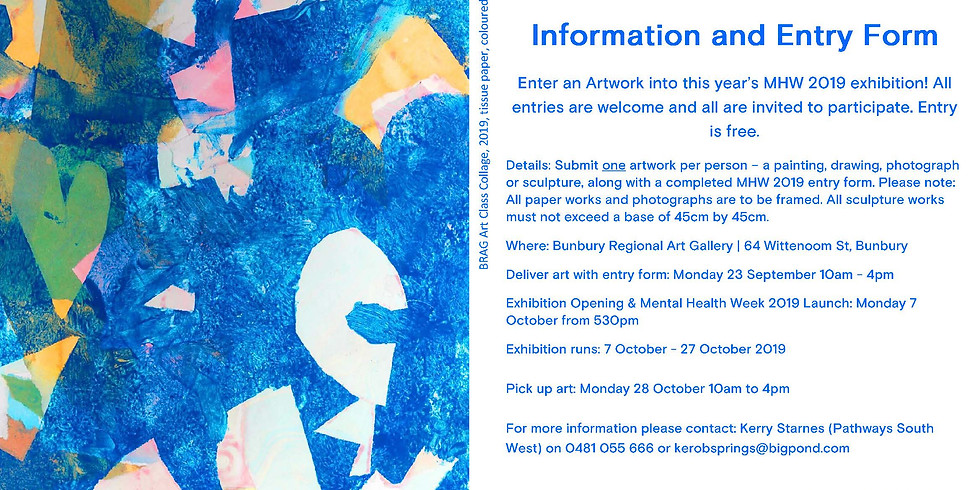 Bunbury Art Exhibition: Mental Health Week