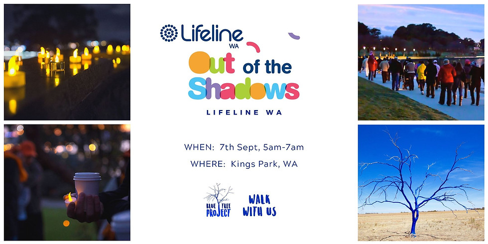Lifeline WA - Out of the Shadows: Walk with us (Perth)