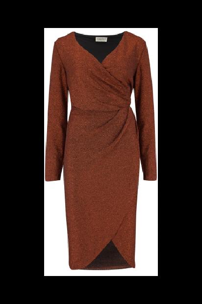 Sienna Sparkle Wrap Dress