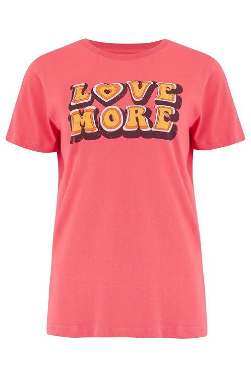 MAGGIE LOVE MORE T-SHIRT