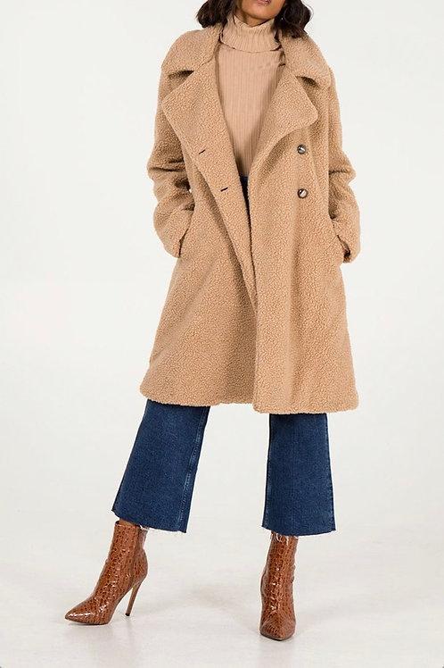 Biscuit Teddy Coat