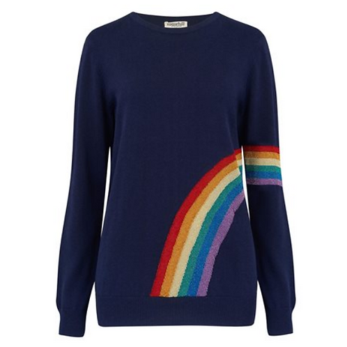 Lurex Rainbow Sweater
