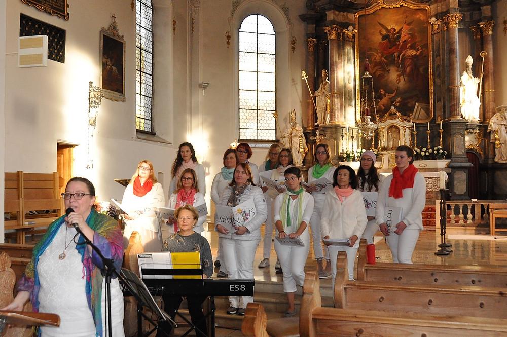 Bei unserem Konzert in Sonthofen