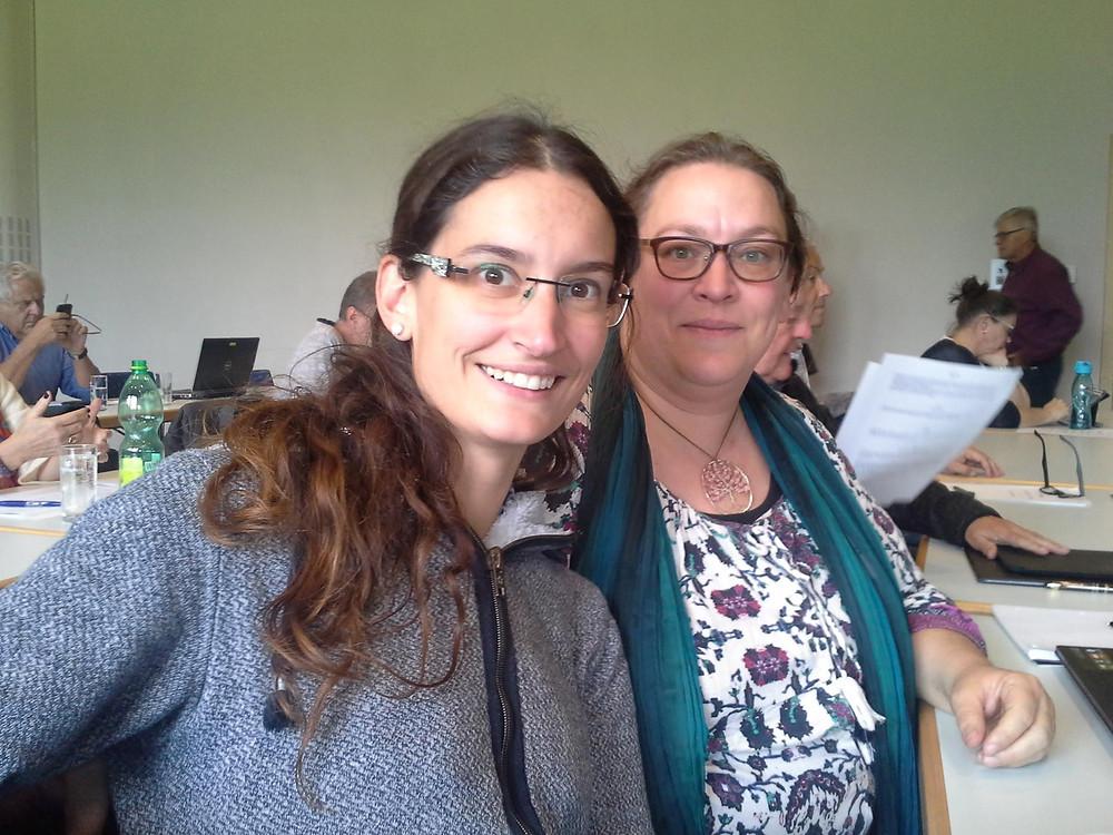 Regina und Jeannine beim Obleutetag 2017