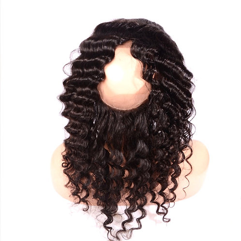 BRAZILIAN 360 LACE FRONTAL - CURLY