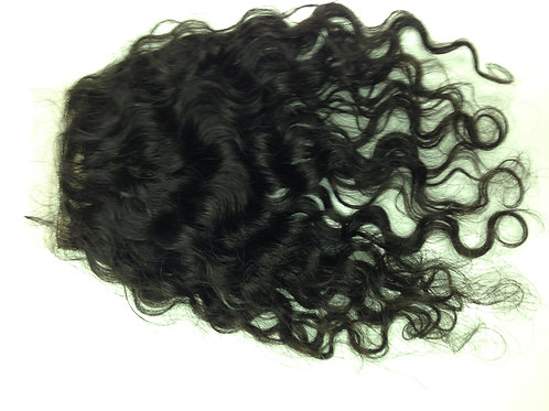 BRAZILIAN SILK BASED CLOSURE - CURLY