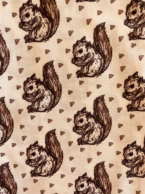 Masks-squirrels (brown)