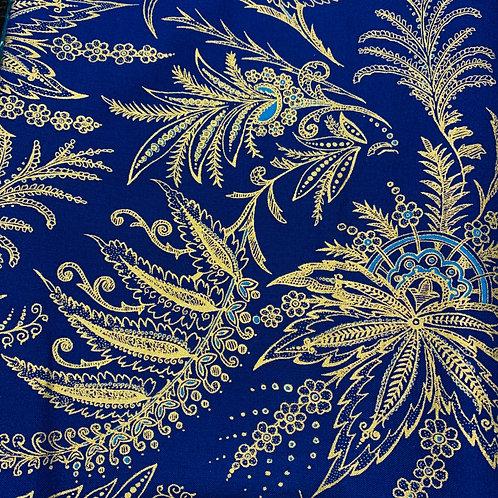 Masks-palm tree blue