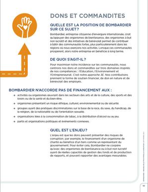 Bombardier Manuel de lutte contre la corruption -  Merle Blanc