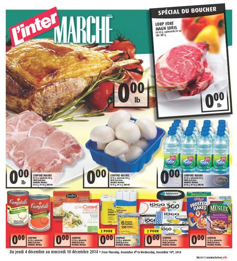 Circulaire L'inter-marché - Merle Blanc