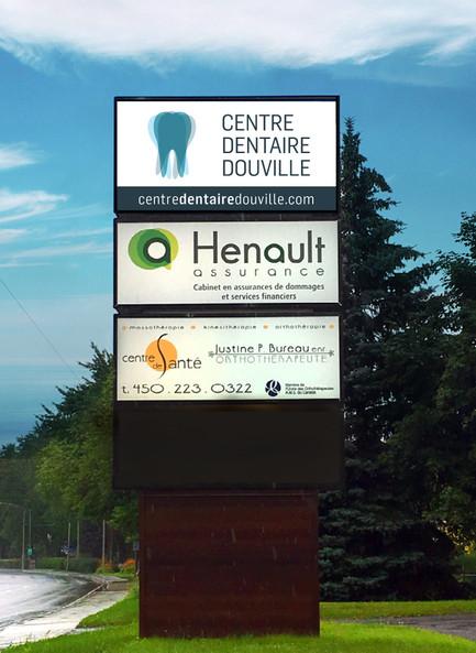 Logo Centre dentaire Douville - Merle Blanc