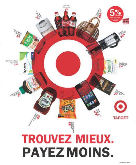 Circulaire Target - Merle Blanc