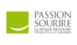 Logo Passion Sourire - Merle Blanc