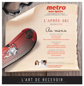 Circulaire Metro - Merle Blanc