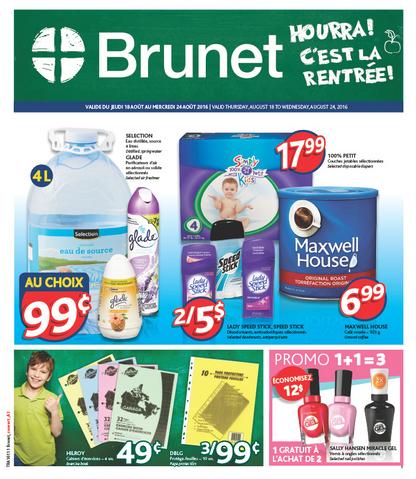 Circulaire Brunet - Merle Blanc