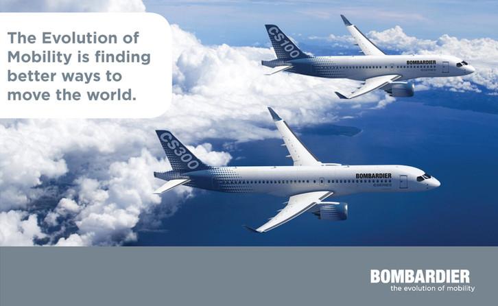 Bombardier publicités - Merle Blanc