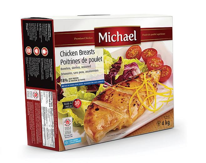 Emballage - packaging -Michael - Merle Blanc