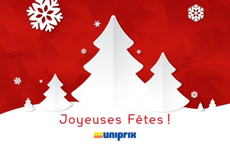 Promotion PLV en magasin Uniprix - Merle Blanc