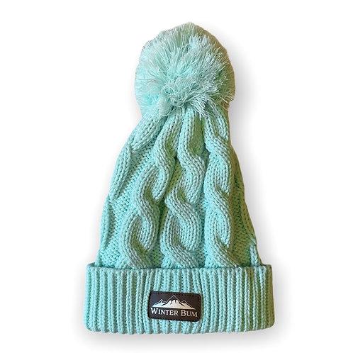 "Ladies ""Winter Bum"" Chunky Sweater Knit Beanie"