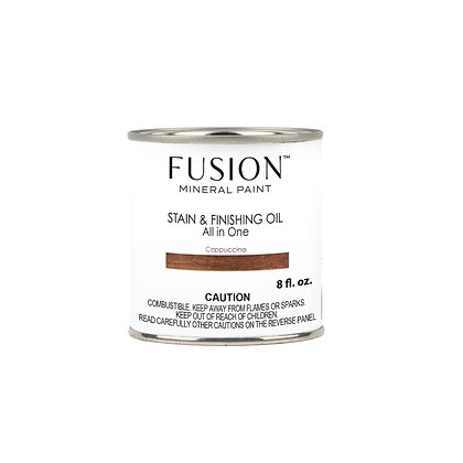 Fusion Cappuccino Stain and Finishing Oil