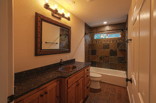 Mountain Home Guest Bath