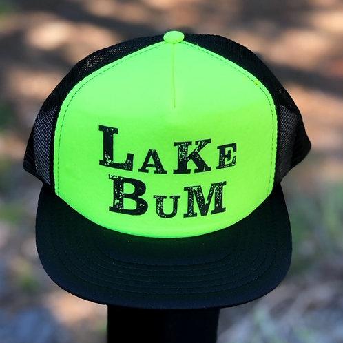 Trucker Foam Hat in Neon Yellow and Black