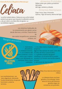 Infografía Dieta Celíaca