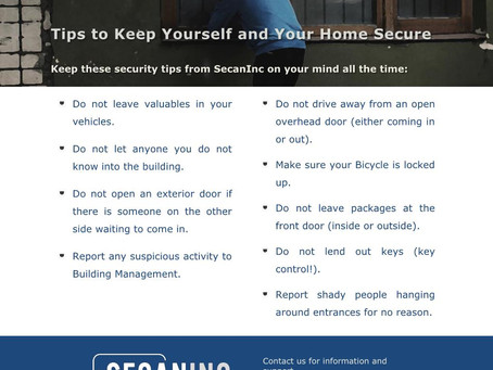 Small Steps to Personal Security