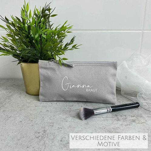 Kleine Kosmetiktasche Wonder Personalisiert (verschiedene Motive)