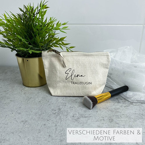 Kleine Kosmetiktasche Shila Personalisiert (verschiedene Motive)