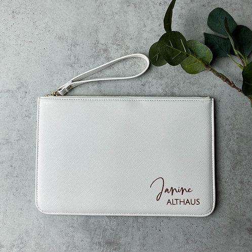 Clutch Abendtasche - Name & Nachname Personalisiert