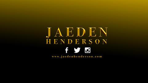 Jaeden Henderson Banner