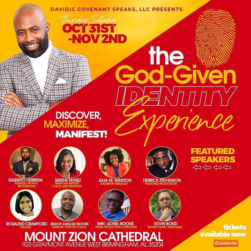 The God-Given Identity Experience Concert