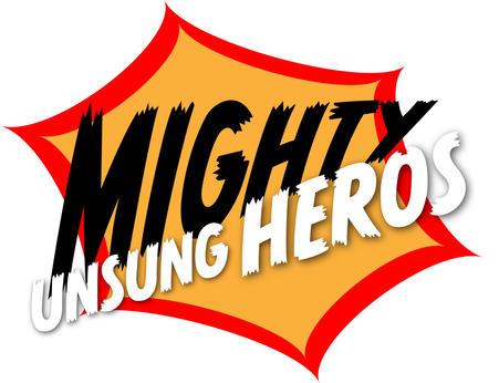 Mighty Unsung Heros Logo #2