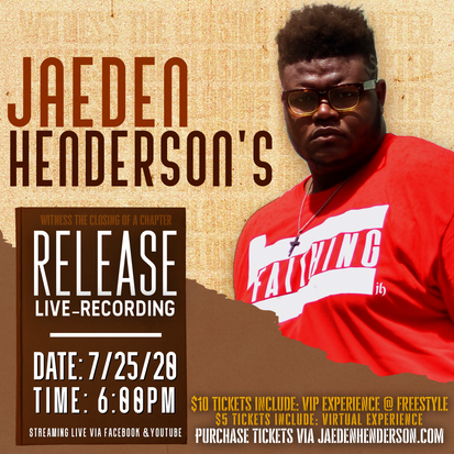 RELEASE LIVE RECORDING FLYER