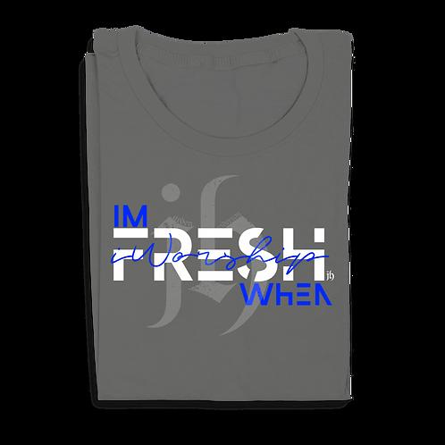 """I'm Fresh When iWorship"" Urban T-Shirt"