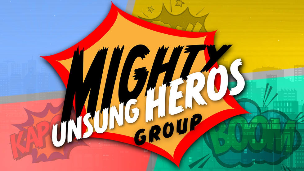 Mighty Unsung Heros Banner